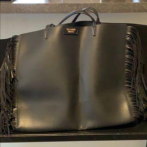 Victoria Secret tassel tote bag
